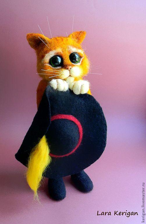 Купить Кот в сапогах - рыжий, кот в сапогах, шрэк, Шрек, мультяшки, мультфильм, мультгерой