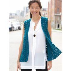 Free Intermediate Women's Vest Crochet Pattern