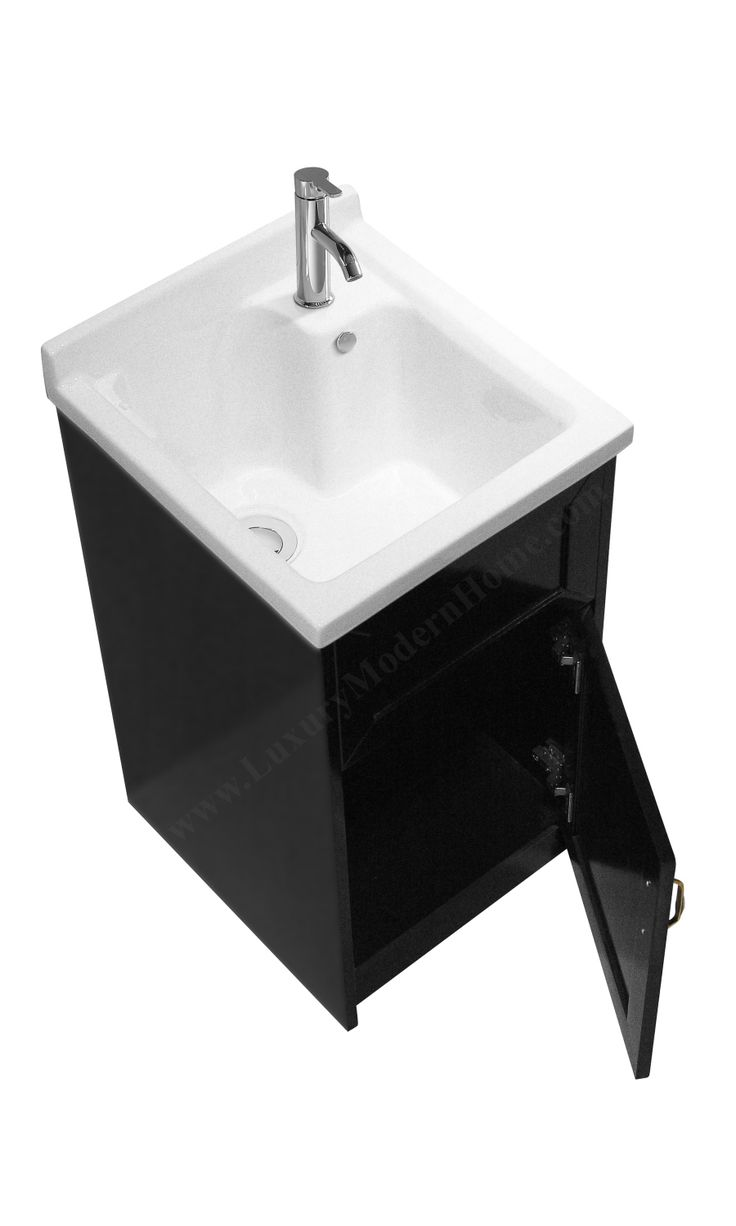 Compact Laundry Sink : ... Sink Cabinet - Utility Slop Tub on Pinterest Utility sink, Laundry