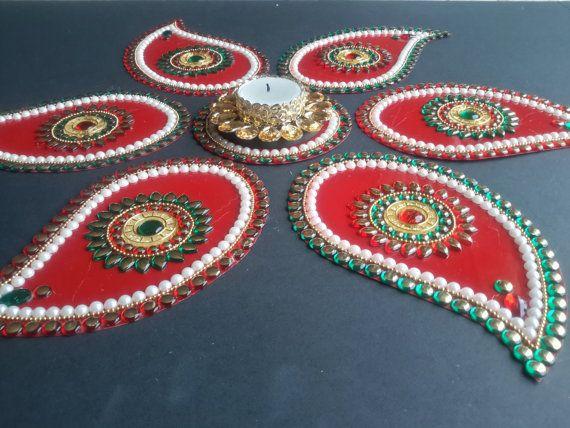 Rangoli Exclusive Indian Wedding Decor by JustForElegance on Etsy, $34.00