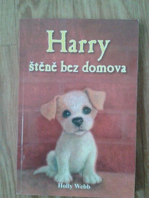 Harry štěně bez domova- Holly Webb