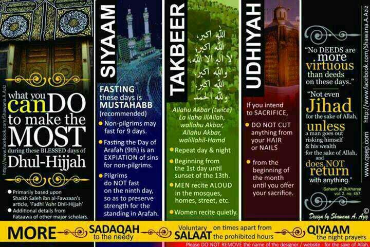 Virtue of the first 10days of Dhul Hijjah! {http://www.PureMatrimony.com}