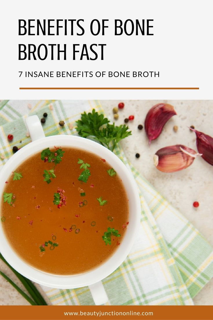 Discover the benefits of bone broth fast.