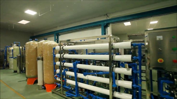Reverse Osmosis Water Purification System RO Pure Water Treatment Plant