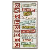 Found it at Wayfair - Christmas Sentiments Framed Textual Art