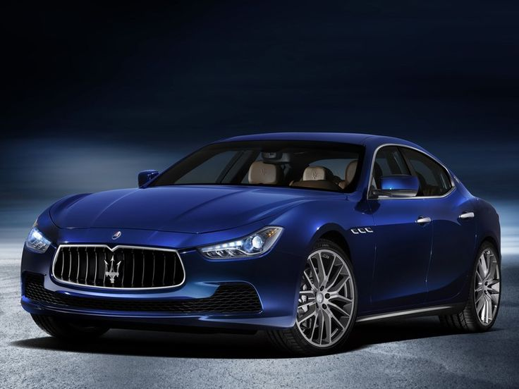 """Maserati Ghibli: """"As the Trident brand's hunky big sedan, the Quattroporte, has matured to become a handsomely sporty boulavardier, this new mid-sized four-door has stepped in to provide the requisite taut and exquisite menace."""""""