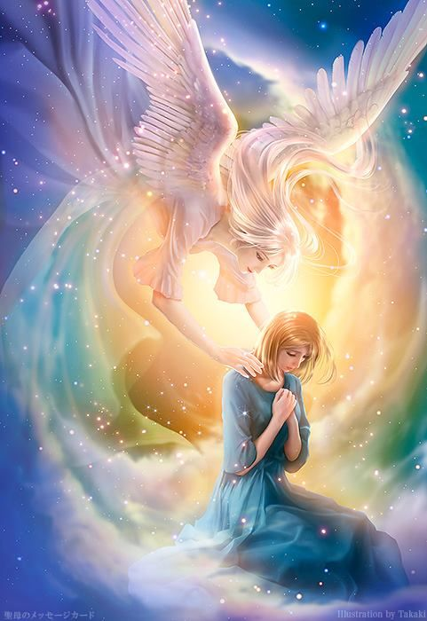 Caring Angel-★ Your Guardian Angel knows you inside and out, and loves you just the way you are. ★ ^i^