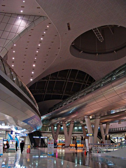 Incheon Airport, Seoul - best airports in Asia ~~~ Straight-up, one of the beat airport period.