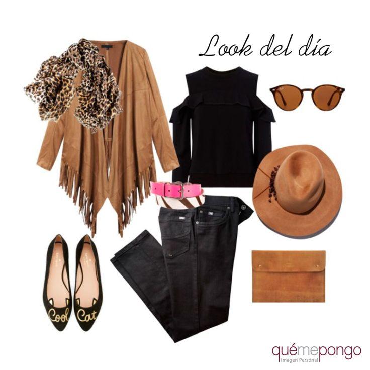 Una propuesta para pasar un puente de lo más chic.. ¿Qué os parece?  #qmp #quemepongo #outfitoftheday #lookdeldía #outfit #look #tendencias #leopardo