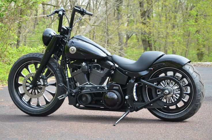 "2012 FatBoy Lo Build Thread – 2nd phase of mods – TONS of Pics! ""How to's"" and tips - Harley Davidson Forums"