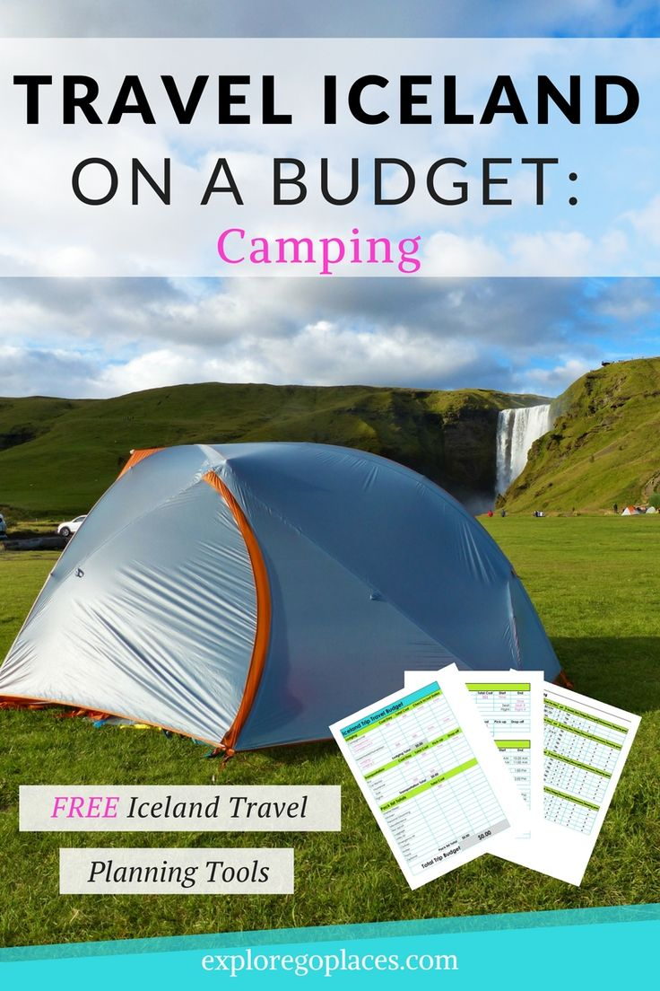 Iceland camping is perfect for outdoor lovers. Check out these ways to camp around the island while staying on a budget.