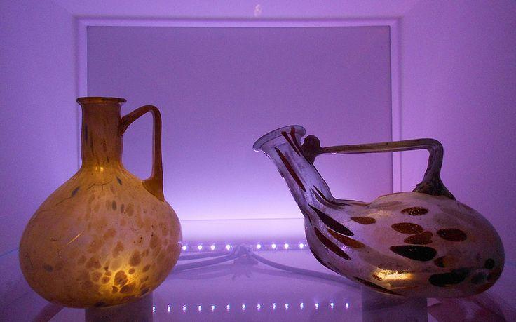 vetri speciali, museo archeologico nazionale, Adria