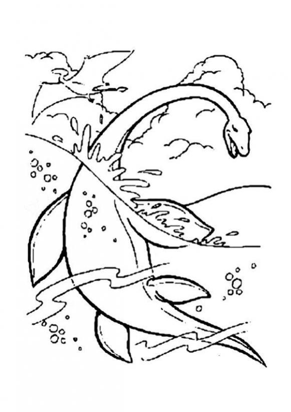 Pin By Rebecca Morgan On Homeschooling Ideas Dinosaur Coloring Rhpinterest: Underwater Dinosaurs Coloring Pages At Baymontmadison.com