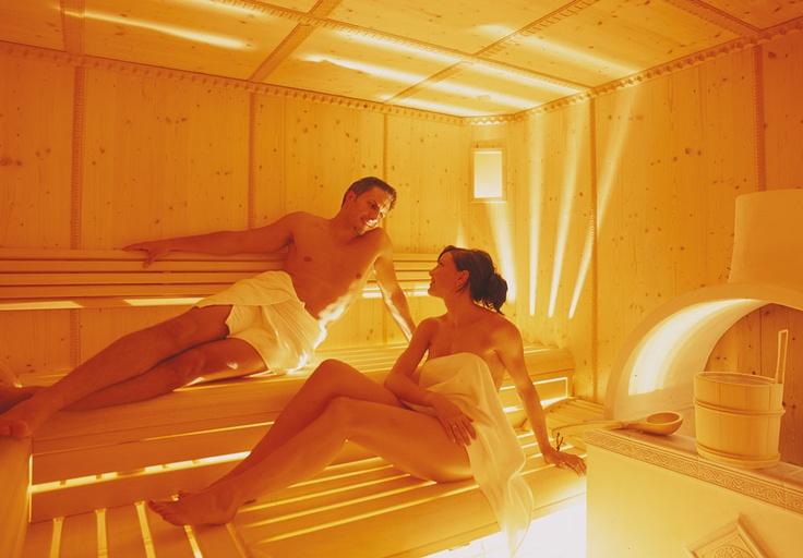 Sauna im Hotel Alpin Royal