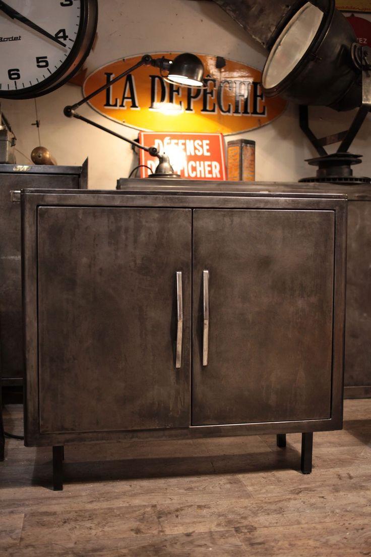 Les 1528 meilleures images propos de deco indus sur pinterest atelier in - Ancien meuble industriel ...