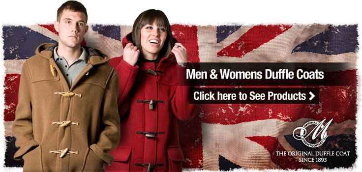 Long Duffle Coats for mens and ladies