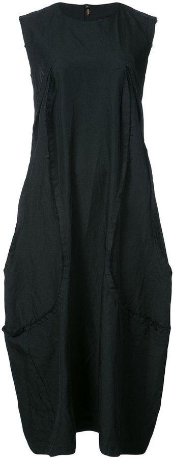 Comme des Garcons sleeveless midi sack dress