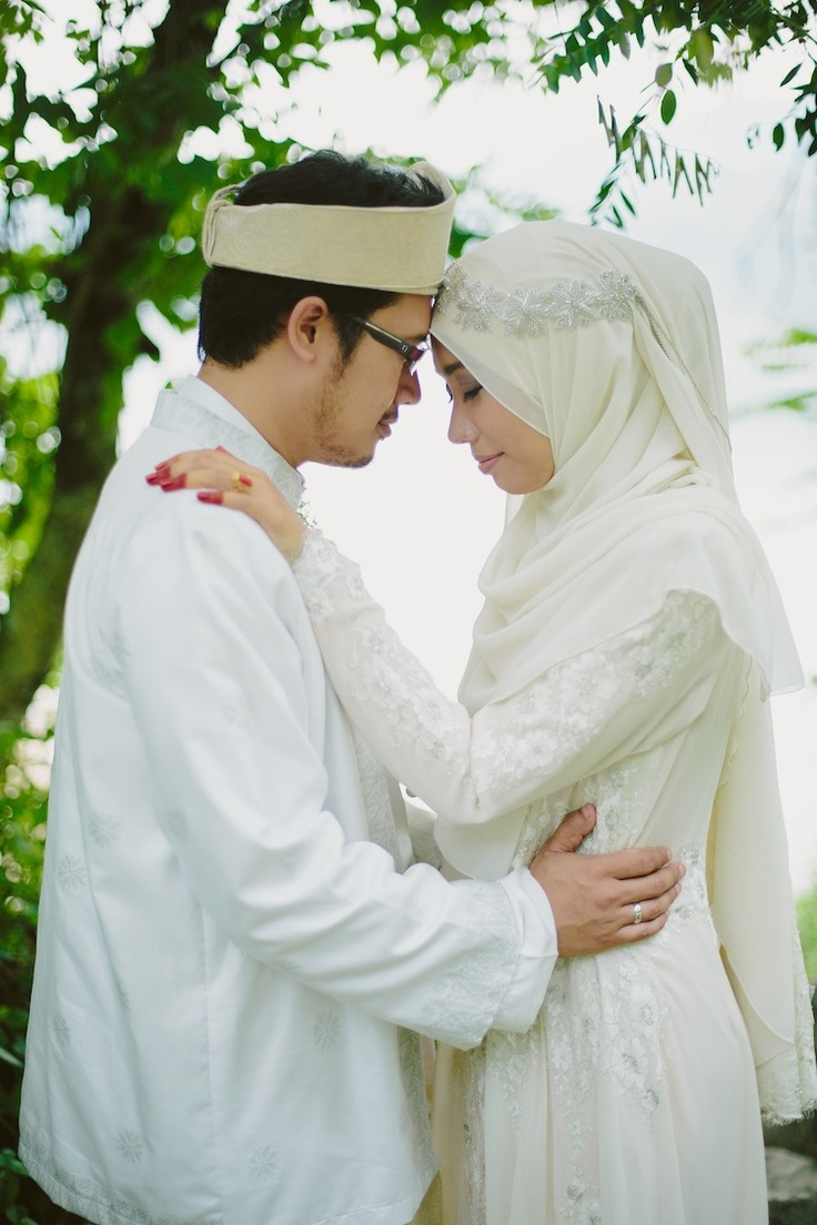 muslimah bride dress