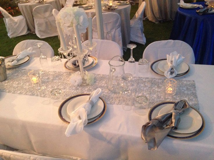 Table setting & 14 best Semi formal..back yard...garden party images on Pinterest ...