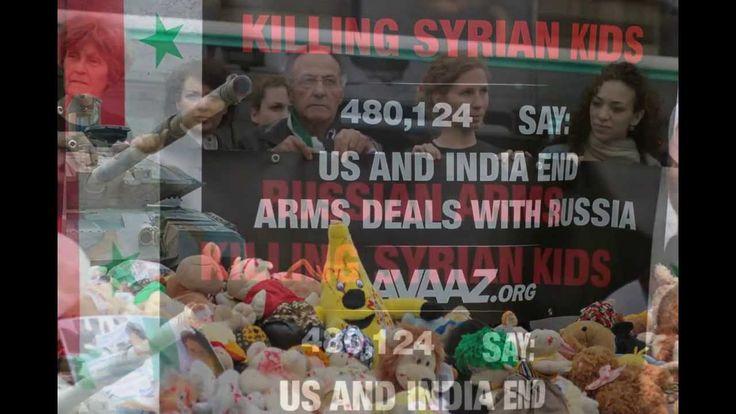 Reportage : Avaaz Manifestation contre le salon mondial d'armement Eurosatory