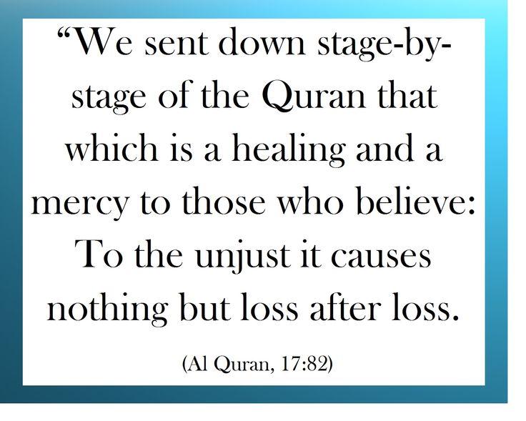 Quran is Healing  (Islam)