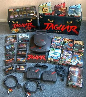 Atari Jaguar | Atari jaguar 2 Top 10 Gaming Console Failures ... WHATEVER I LOVE MINE & IT STILL WORKS (YES, EVEN THE CD!) ~D.