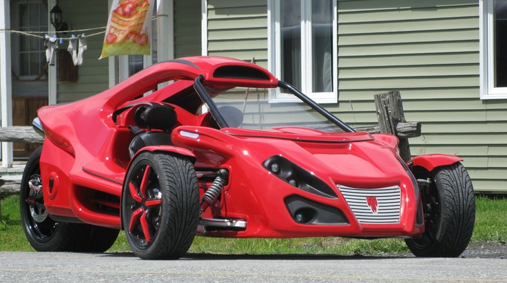 Tri-Moto Industries Venom R Trike Hayabusa 1300 - Too cool great project