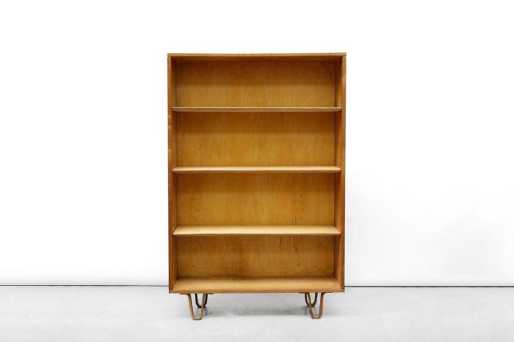 Vintage Pastoe BB02 Berkenserie boekenkast van Cees Braakman VAN ONS vintage design Amsterdam