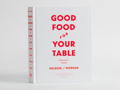 """Our friends at Melrose and Morgan know how to feed people, so I've been looking forward to their new book. 450 pages with everything you need to know about everything in your pantry - and how to cook it!"" Helene, High Street Hero (£25 from Melrose and Morgan)"