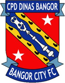 Bangor City are a semi-professional Welsh football club from the City of Bangor, Gwynedd. The club compete in the Welsh Premier League, being ever present since the league was founded in 1992.Founded in 1876, Bangor City have played in the inaugural season of the Welsh Cup and the UEFA Europa League, along with being founder members of the North Wales Coast League
