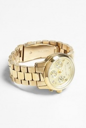 My Movado needs a companion.: Gold Chronograph, Watches Gold, Cheap Michael, Gold Sports, Gold Michael, Design Fashion, Michael Kors Watches, Sports Chronograph, Chronograph Watches