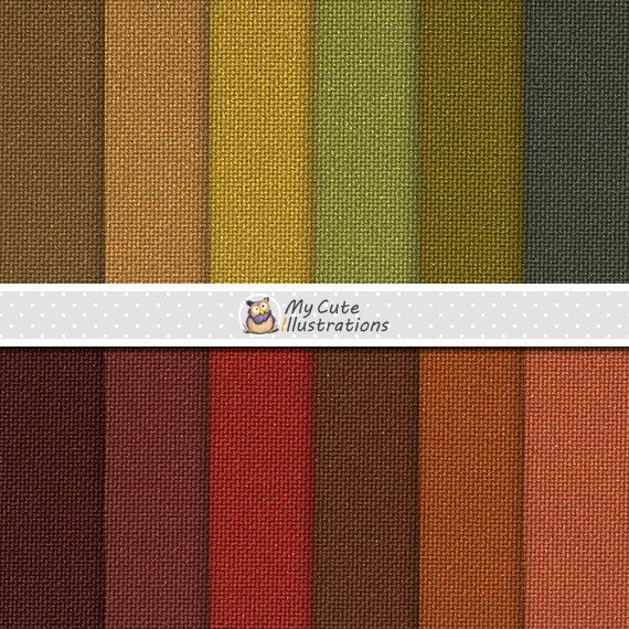 Autumn Linen Digital Papers with linen backgrounds and textures in autumn, fall…