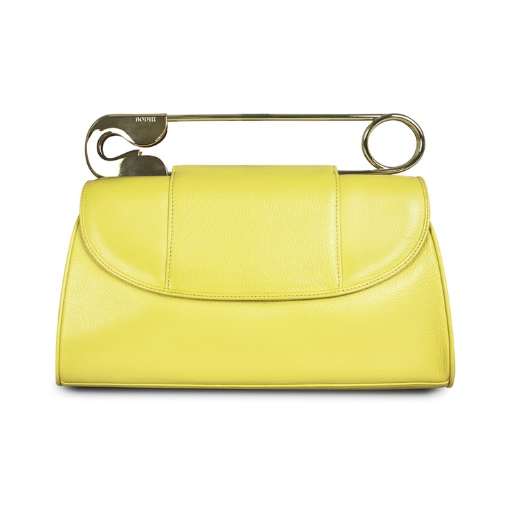 {Safety Clutch in Sunshine} by BODHI - what a statement bag!