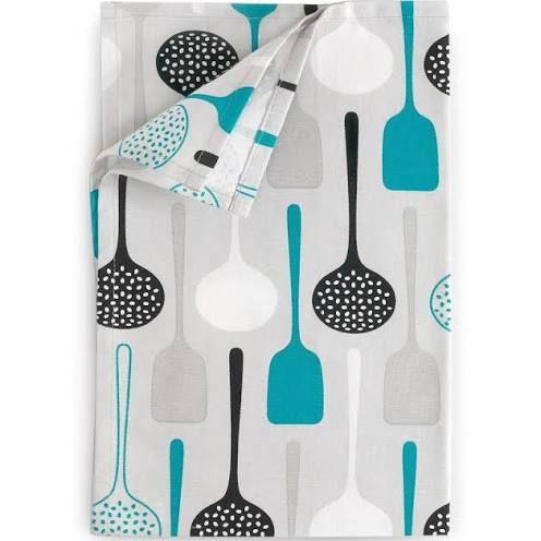 teal kitchen accessories