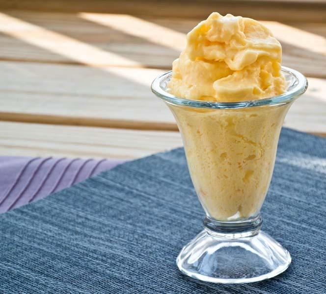 creamy mango sorbet recipe creamy mango sorbet recipe mango sorbet ...