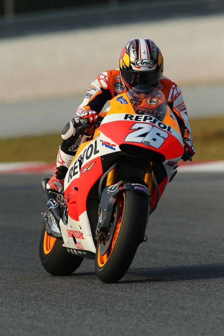 Pedrosa, Sepang MotoGP test, 4-6 February 2014