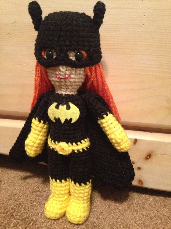 Amigurumi Batgirl : 1000+ images about crochet Disney and other character ...