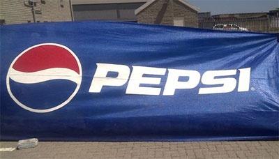 Pepsi - Shade cloth printing