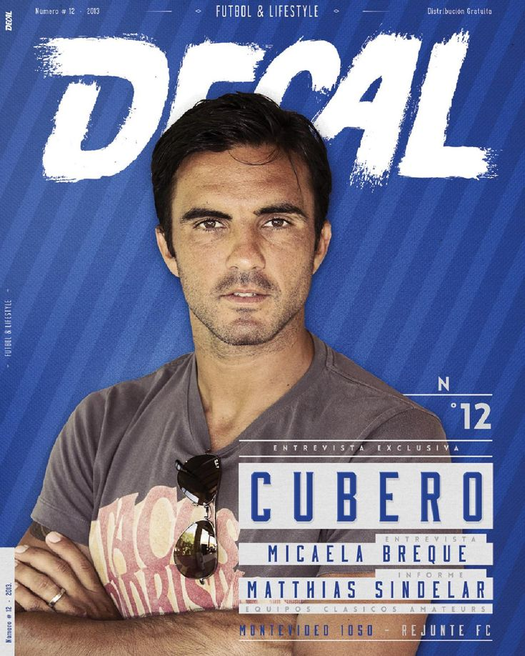 DECAL #12  DECAL Revista de fútbol amateur y lifestyle