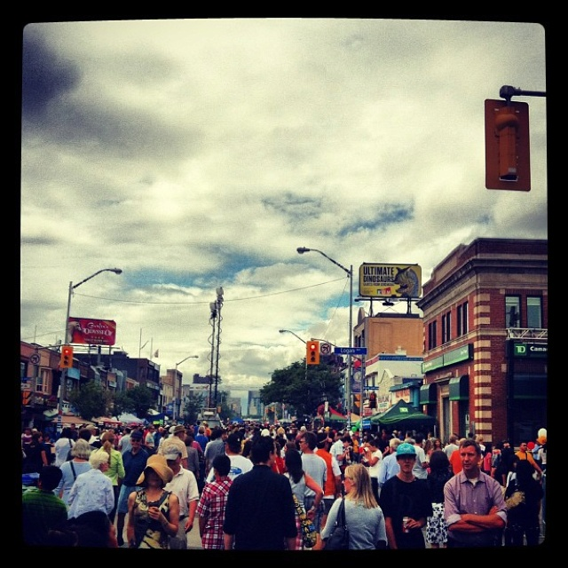 Taste of the Danforth, Toronto 2012