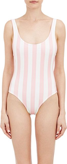 Solid & Striped One-Piece Anne-Marie Swimsuit - One Piece - Barneys.com