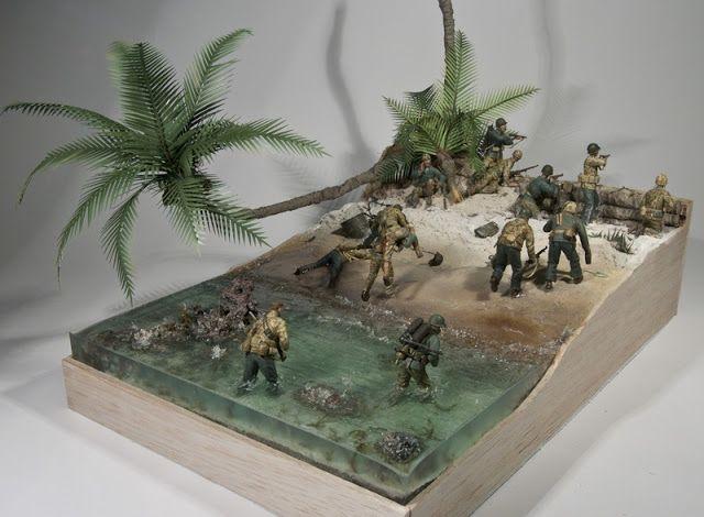 Pacific War amphibious assault