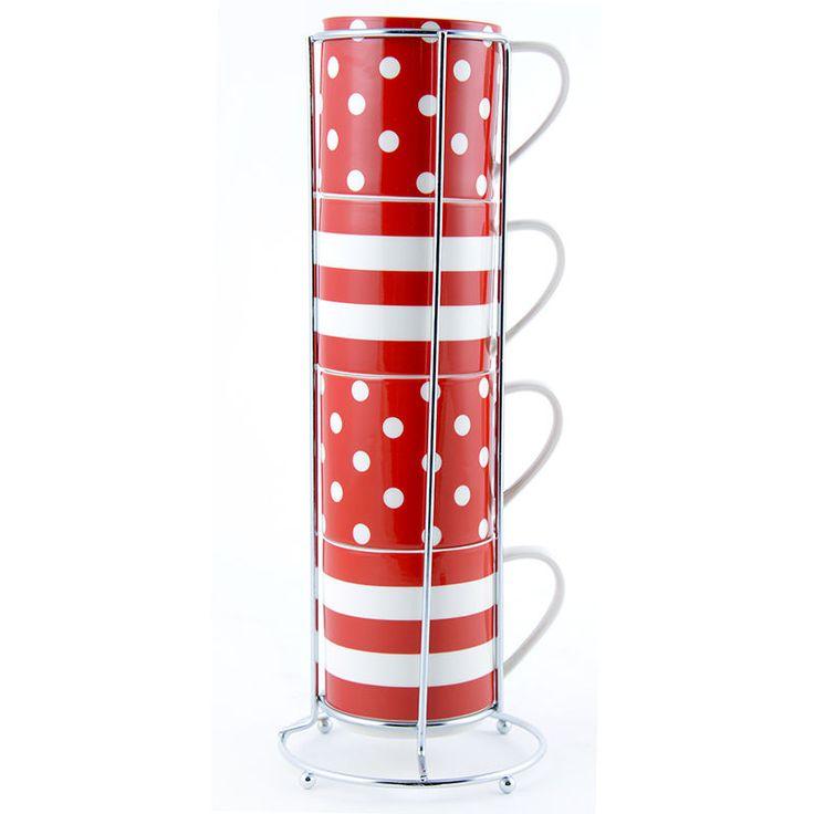 Famous The 24 best red mugs images on Pinterest | Mugs set, Mug and Bone  UY17