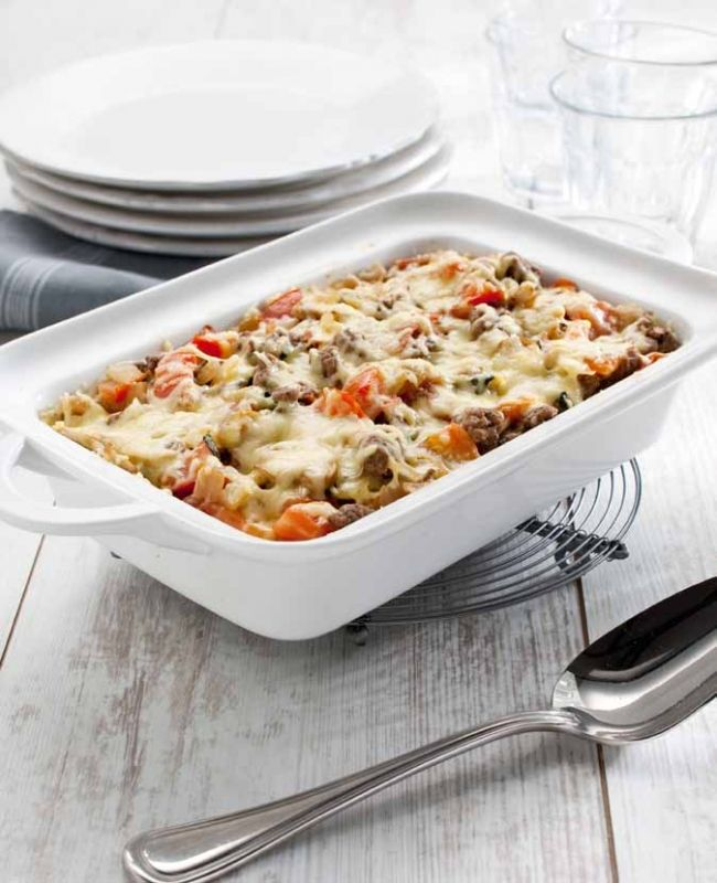 Pasta ovenschotel met spinazie, NewFysic | Moeiteloos afslanken