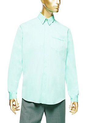 Versace - Shirt With Greca Embroidered Pocket