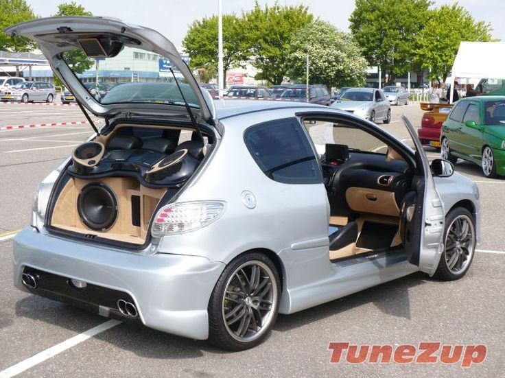 for sale modified and tuned peugeot 206 showride. Black Bedroom Furniture Sets. Home Design Ideas