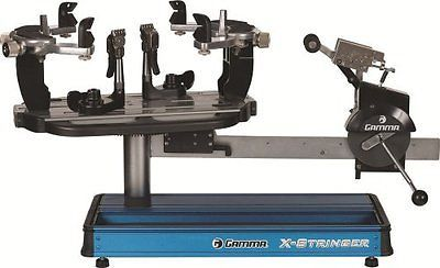 Other Tennis 2917: Gamma X-St Tennis Stringing Machine Blue Silver -> BUY IT NOW ONLY: $975.64 on eBay!