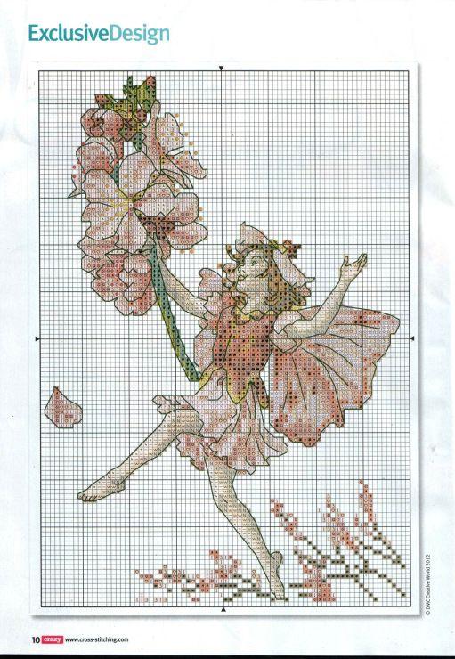Gallery.ru / Фото #7 - Cross Stitch Crazy 166 август 2012 + приложение Free Вest of - tymannost