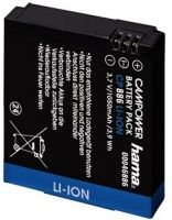 Hama CP 886 Li-Ion Battery for GoPro HD Hero by Hama Hama brings you this CP 886 Lithium ion battery for GoPro HD Hero which allows you to use your camera for a long period of time. It consists of brand name cells which provide you with a longer service http://www.MightGet.com/february-2017-3/hama-cp-886-li-ion-battery-for-gopro-hd-hero-by-hama.asp