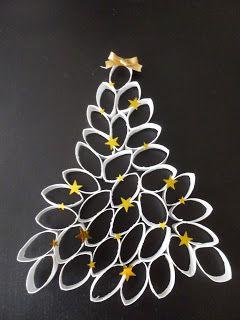 Nathalike ou pas: It's Christmas Time : DIY Sapin de Noël (en rouleaux de papier toilette !)